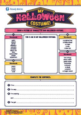 Wymyślamy kostium na Halloween (język angielski)