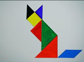 Zadania do tangramu: zwierzęta, ptaki, ryby