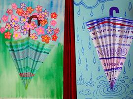 Klimatyczne aplikacje – parasolki objętościowe