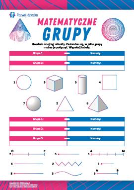 Matematyczne grupy: myślimy logicznie